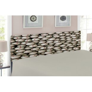 Sports Queen Upholstered Panel Headboard by East Urban Home