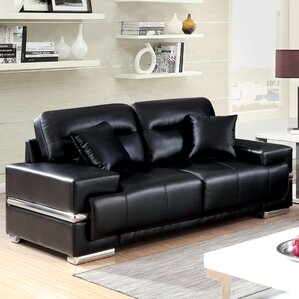 Obryant Contemporary Loveseat by Orren Ellis