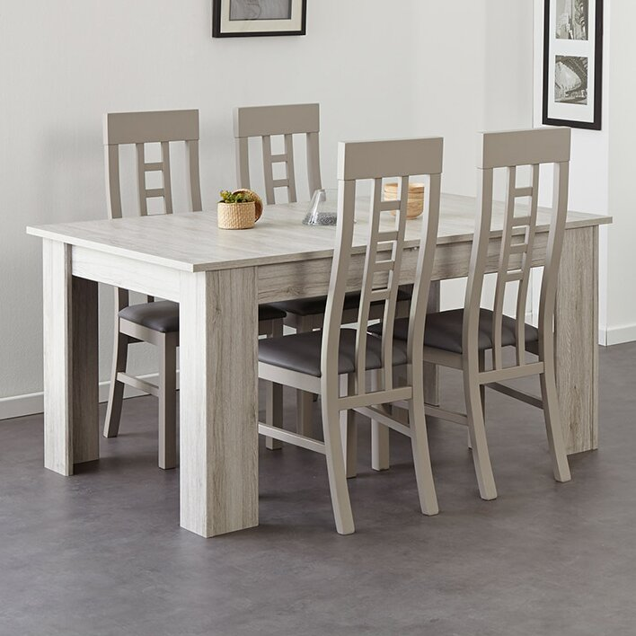 parisot luneo extendable dining table | wayfair