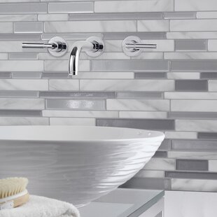 Peel And Stick Bathroom Tile. Mosaik Milano Carrera Dual Finish 11  63 Peel Stick Mosaic Tile In White And Gray