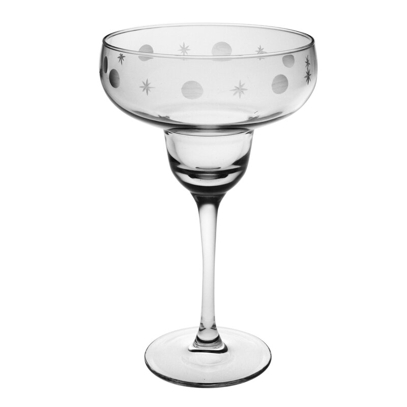 Juanita Hand-Cut Margarita Glass