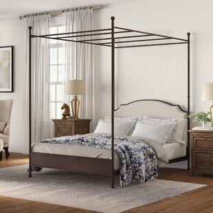 Ackerman Upholstered Canopy Bed