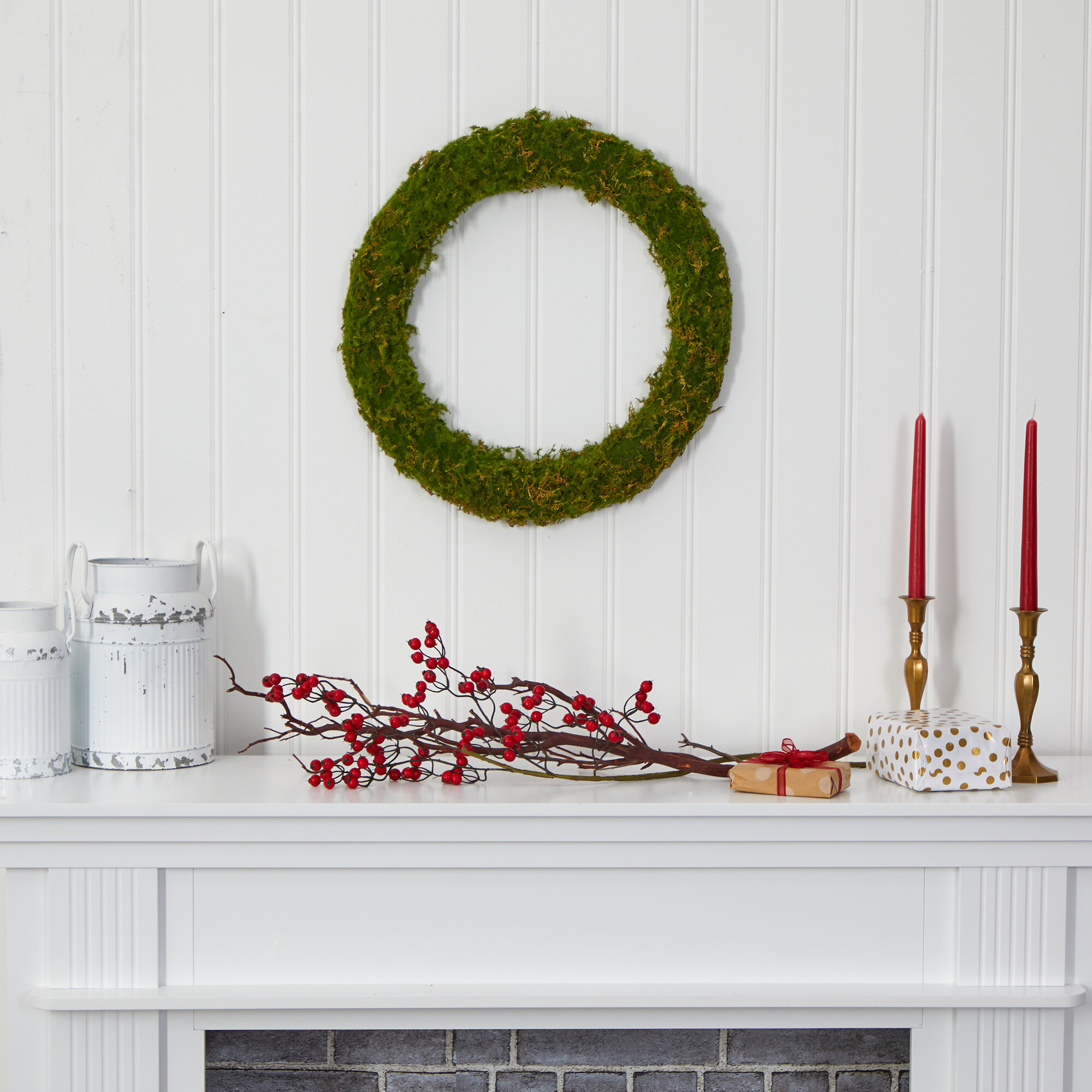 The Holiday Aisle 20 Foam Wreath Wayfair