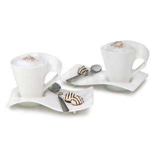 New Wave Caffe Coffee Set (Set of 2)