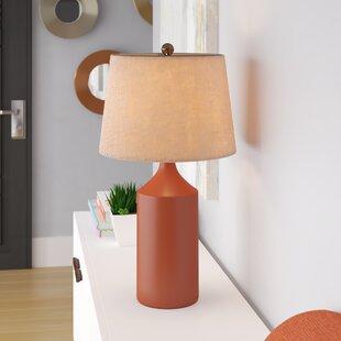 Burnt Orange Lamps | Wayfair
