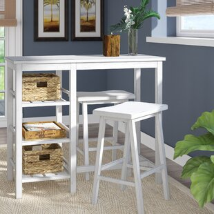 Gardiner 3 Piece Pub Table Set