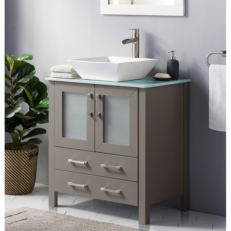 Ebern Designs Celyn 35 Single Bathroom Vanity Set Wayfair