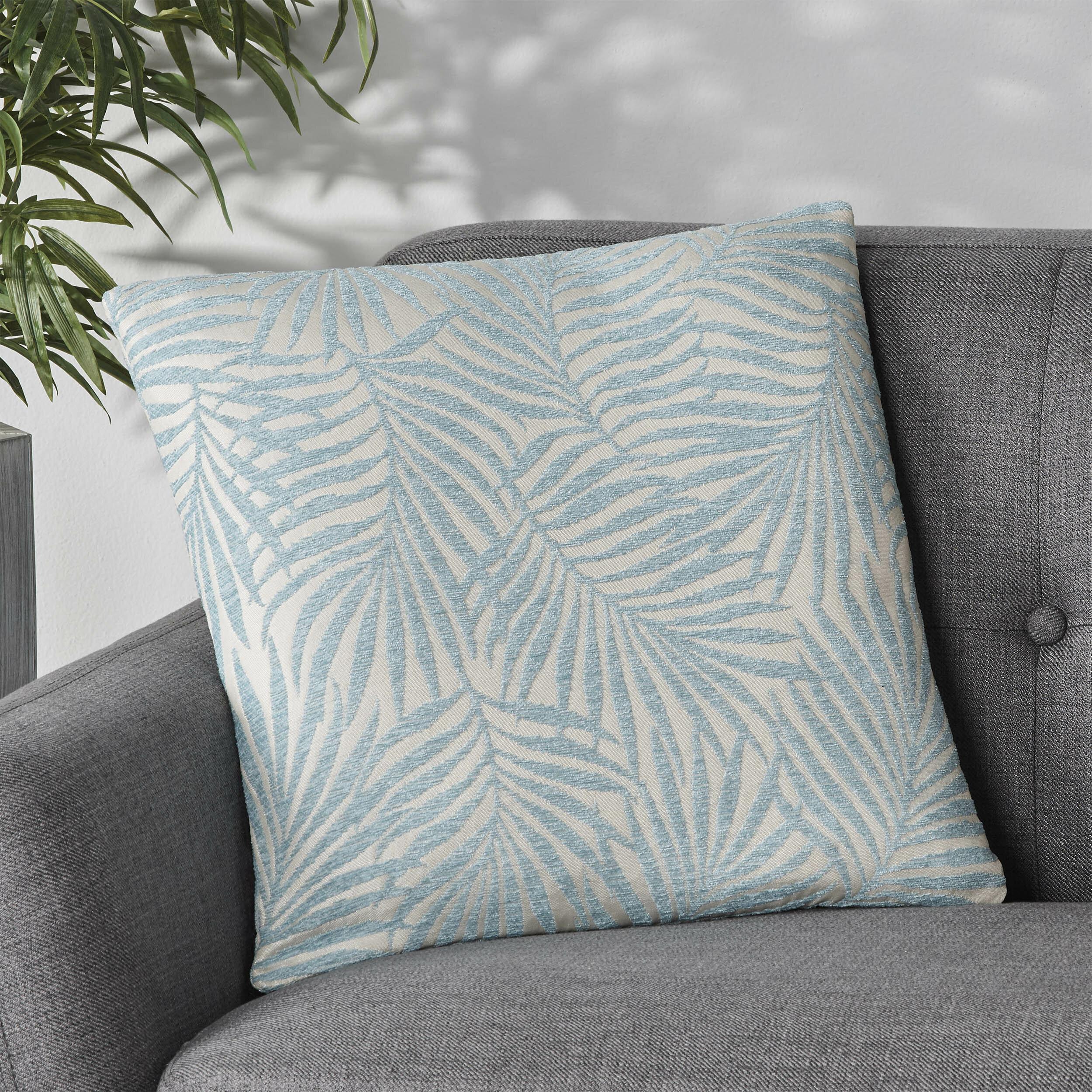 Bayou Breeze Floral 18 Throw Pillow Cover Wayfair
