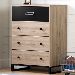 Induzy 4-Drawer Chest Storage Unit