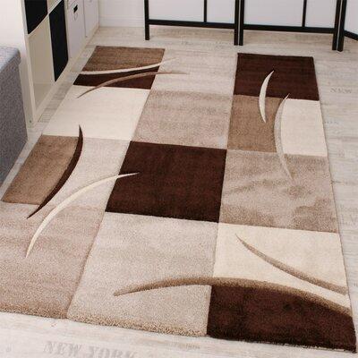 Teppich Cassius in Braun/Creme/Grau | Heimtextilien > Teppiche > Sonstige-Teppiche | Muster | Longweave