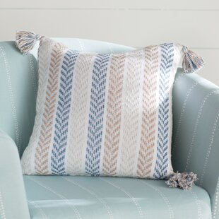 Lockwood Chevron Cotton Throw Pillow