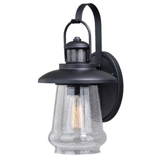 Comerfo Outdoor Wall Lantern with Motion Sensor