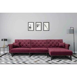 Mcleod 115 Reversible Sleeper Sofa  Chaise by Corrigan Studio