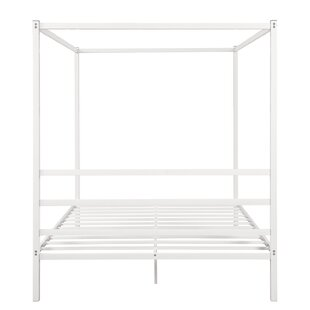 Aramys Twin Canopy Platform Bed