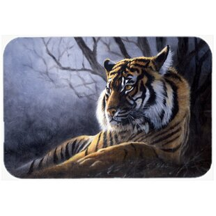 Bengal Tiger Glass Cutting Board