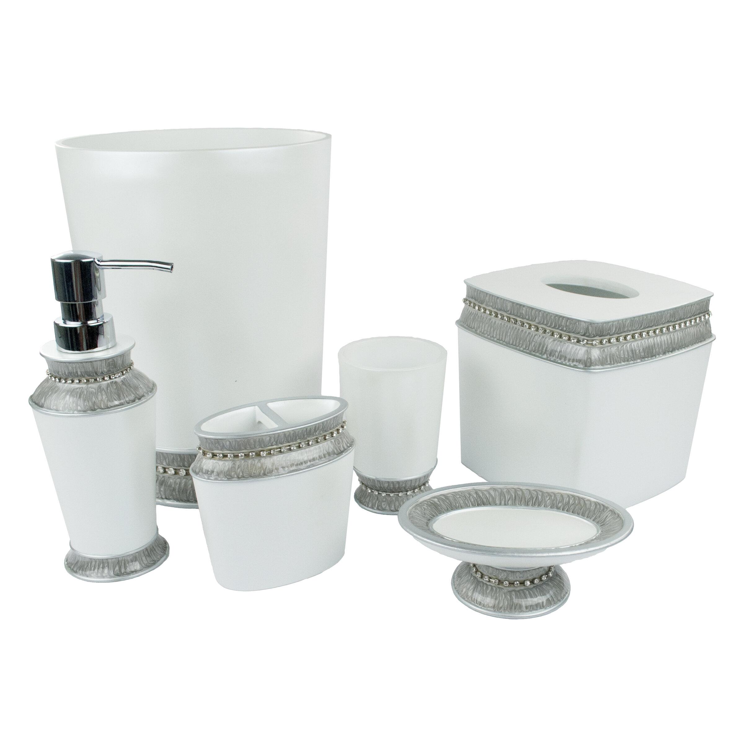 Deluna 6 Piece Bathroom Accessory Set