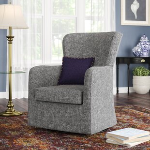 Affordable Price Bibbs Swivel Armchair by Wrought Studio Reviews (2019) & Buyer's Guide