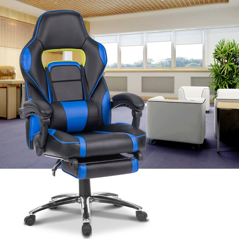 Ergonomic High Back Faux Leather Reclining Chair