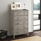 Bedias 5 Drawer Chest by Greyleigh™
