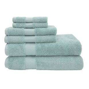 Funston 6 Piece Turkish Cotton Towel Set
