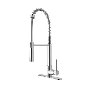 Review Laurelton Pull Down Single Handle Kitchen Faucet by VIGO