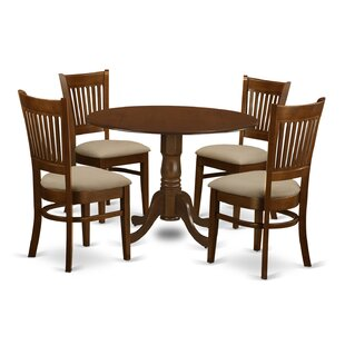 Spruill 5 Piece Dining Set by August Grove Best #1