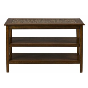 Keynsham Mosaic Tile Inlay Wooden Media Console Table