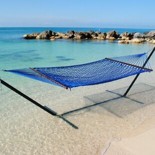 Lythrangomi Caribbean Tree Hammock by Beachcrest Home Cool