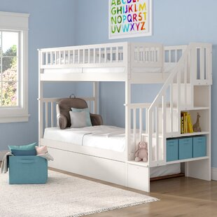 Shyann Twin over Twin Bed with Trundle