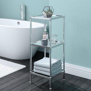 Cardoso Glacier 13 25 W X 33 75 H Bathroom Shelf