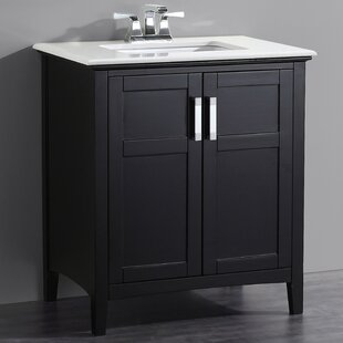Read Reviews Winston 31 Single Bathroom Vanity Set BySimpli Home