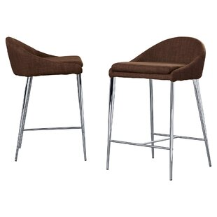 Angela 24.4 Bar Stool (Set of 2) Langley Street