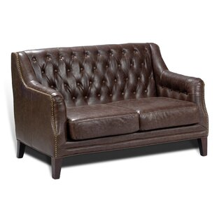 Doe Tufted Loveseat by Alcott Hill