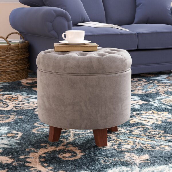 Remarkable Blush Pink Storage Ottoman Wayfair Ocoug Best Dining Table And Chair Ideas Images Ocougorg