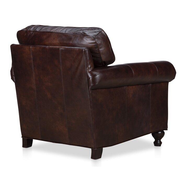Phenomenal Mielke Genuine Leather Club Chair Spiritservingveterans Wood Chair Design Ideas Spiritservingveteransorg