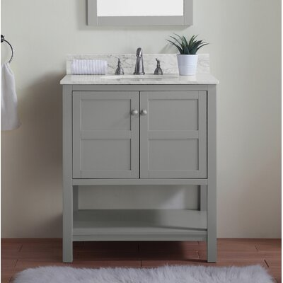 Modern Gray Bathroom Vanities Allmodern