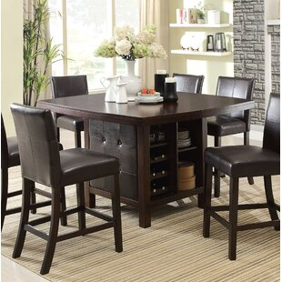 Topsfield Counter Height Dining Table Fleur De Lis Living