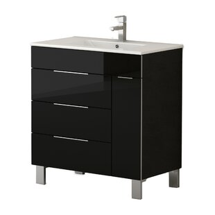 Lois 28 Single Bathroom Vanity Set by Orren Ellis