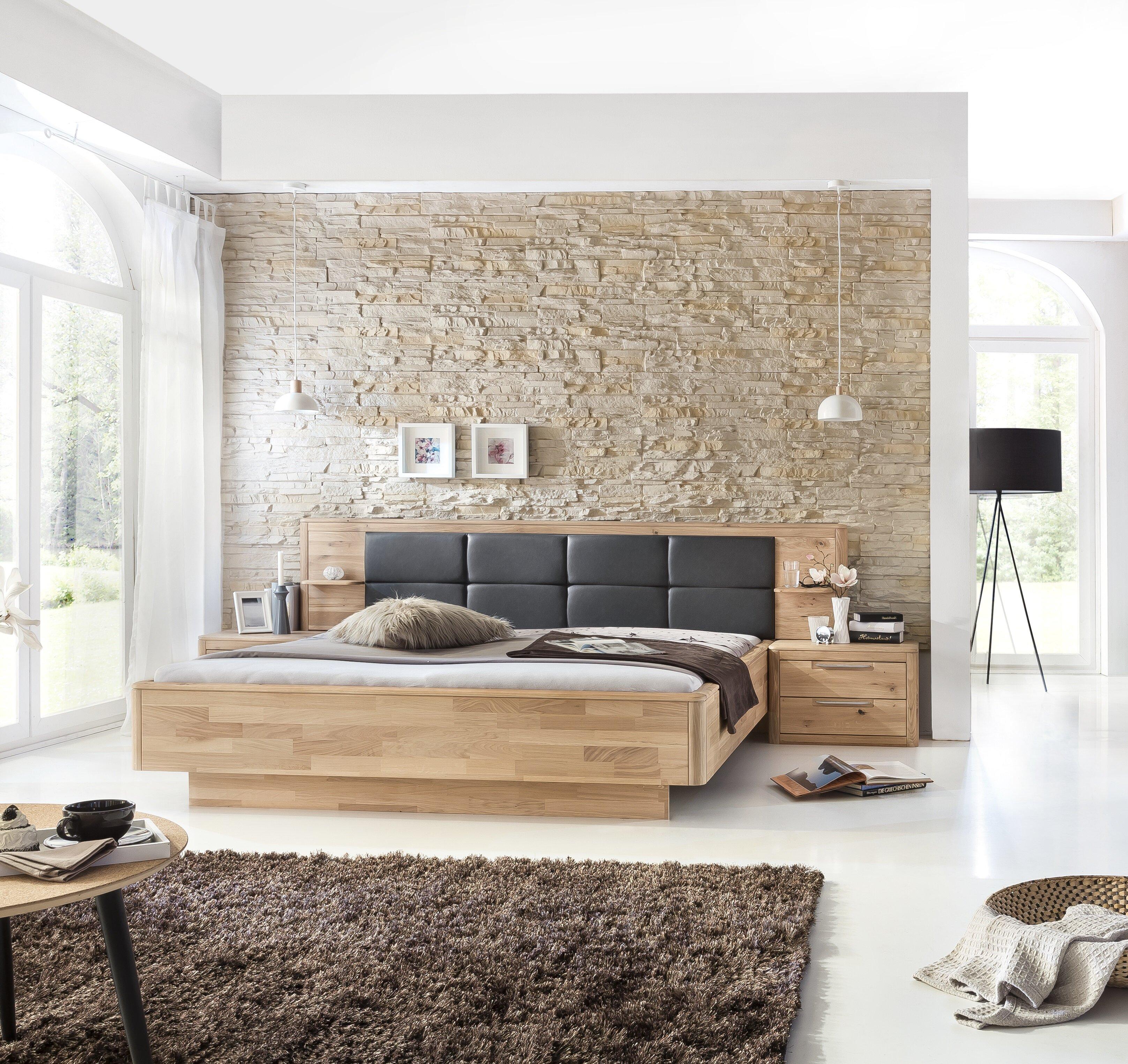 Anpassbares Schlafzimmer-Set Drees, 180 x 200 cm