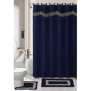 Cobalt Blue Shower Curtain