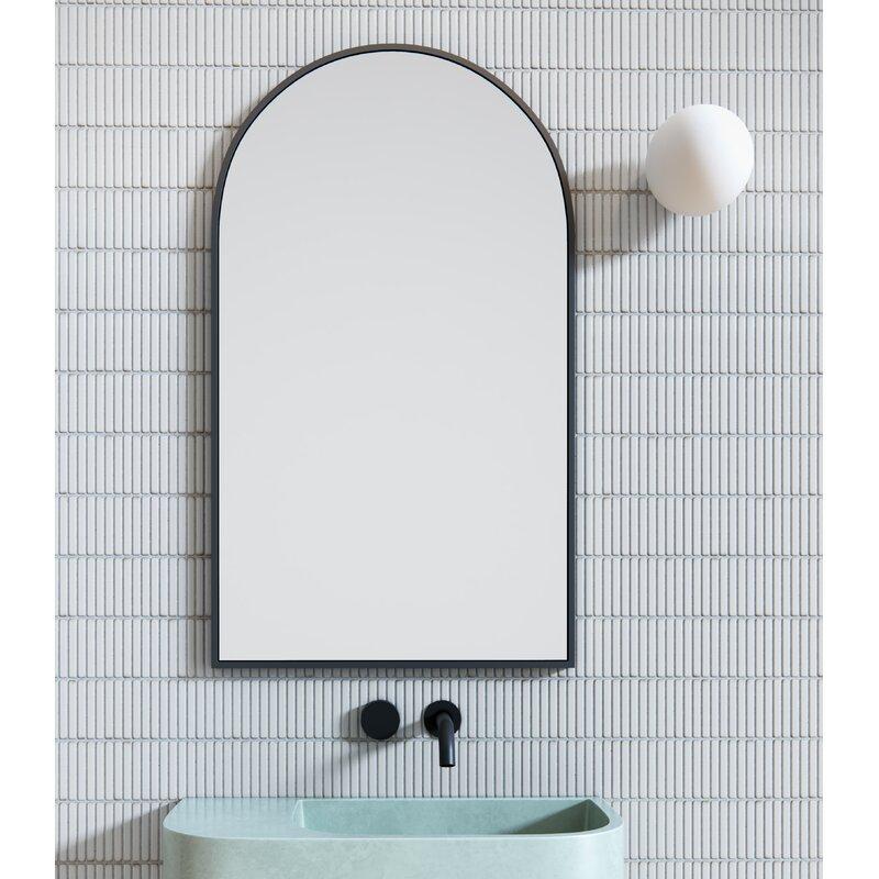Glass Warehouse Modern Bathroom Vanity Mirror Reviews Wayfair