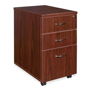 3-Drawer Box/Box/File Mobile Pedestal by Lorell Best Choices