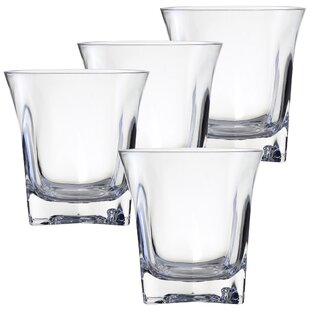 Sofia 16 oz. Acrylic Drinking Glass (Set of 4)