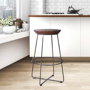 Bricker 29.5 Bar Stool by Williston Forge