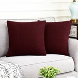 Bowers Square Pillow Cover (Set of 2)