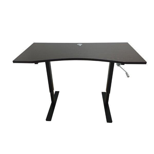Ergomax Office Crank Standing Desk   Wayfair