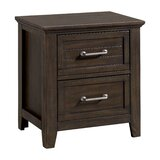 Ambia 2 Drawer Nightstand by Gracie Oaks