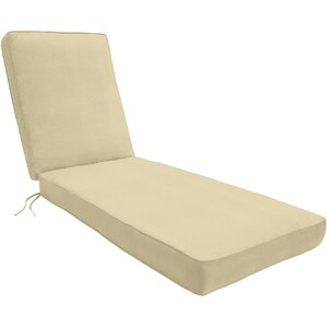doublepiped outdoor sunbrella chaise lounge cushion