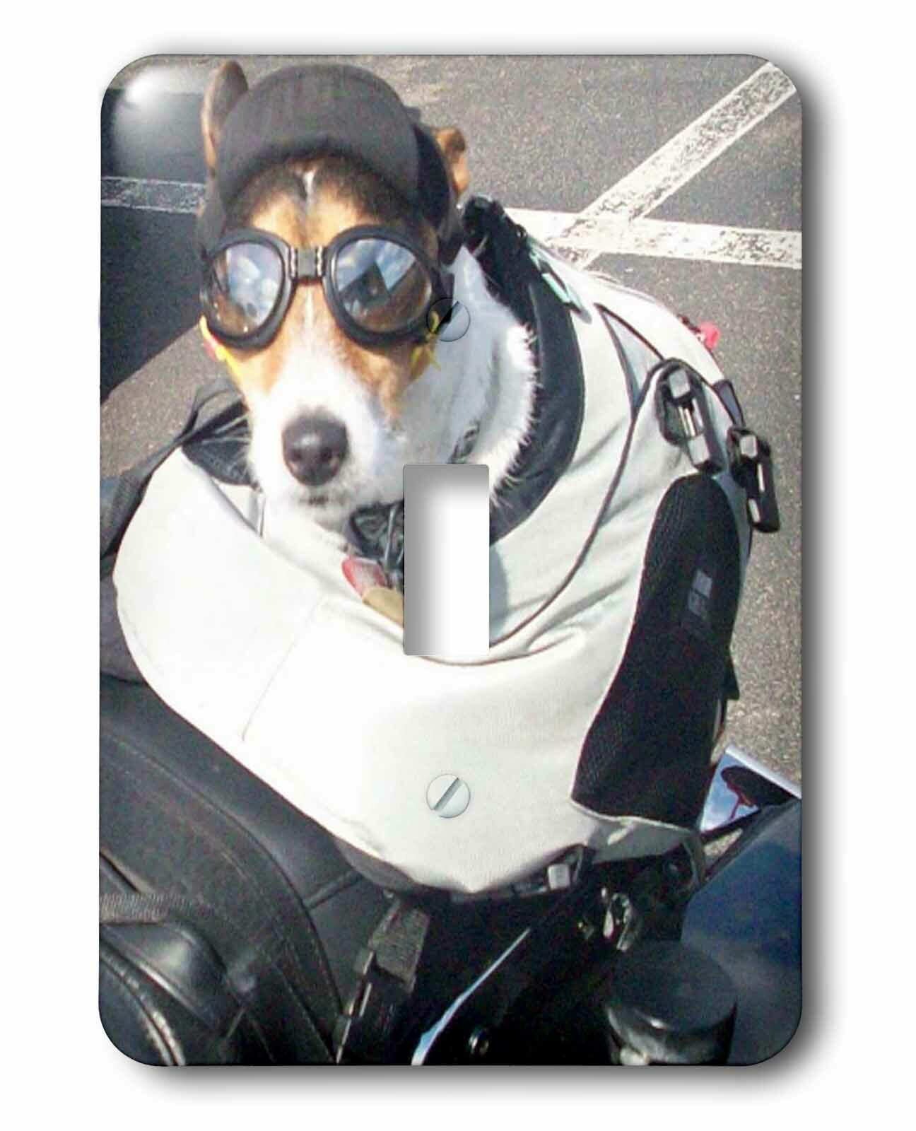 3drose Motorcycle Dog 1 Gang Toggle Light Switch Wall Plate Wayfair