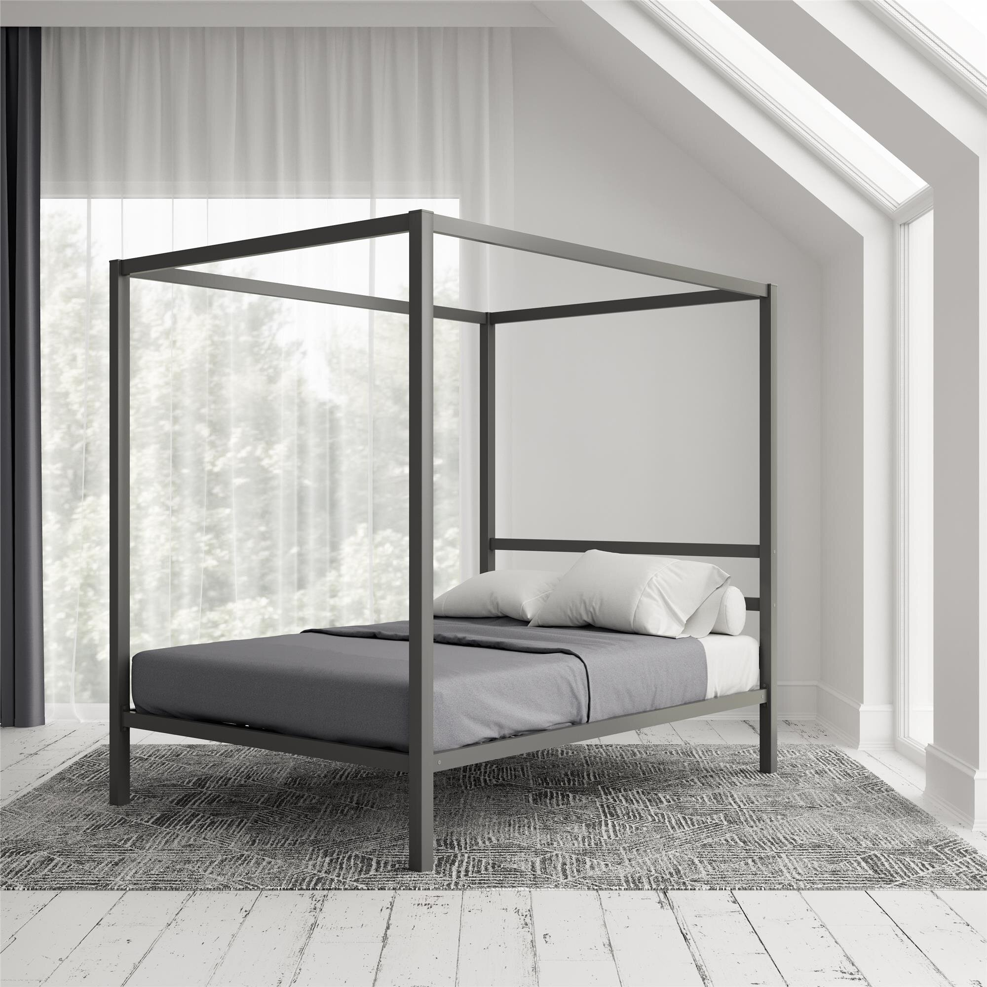 Picture of: Canopy Queen Size Beds You Ll Love In 2020 Wayfair